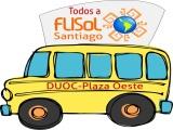 Cómo llegar a Flisol- STGO- Duoc Plaza Oeste