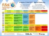 Programa FLISoL Santiago 2017